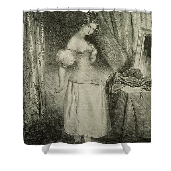 The Corset Shower Curtain