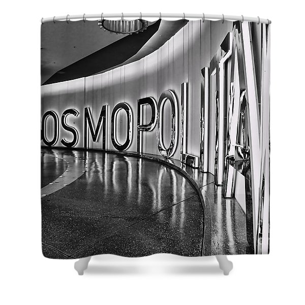 The Cosmopolitan Hotel Las Vegas By Diana Sainz Shower Curtain