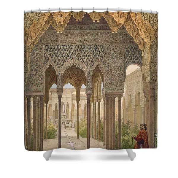 The Court Of The Lions Shower Curtain