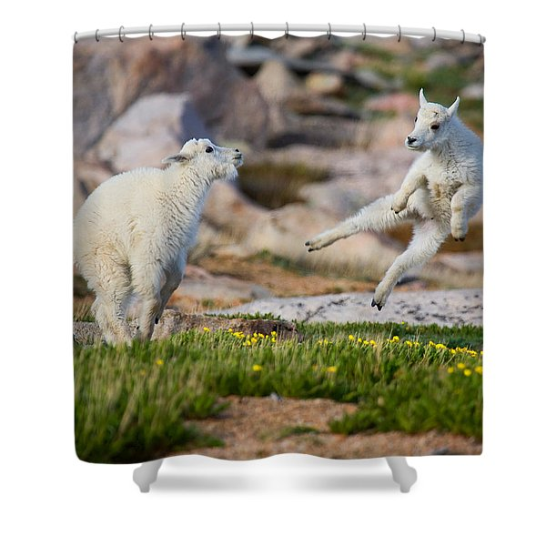 The Dance Of Joy Shower Curtain
