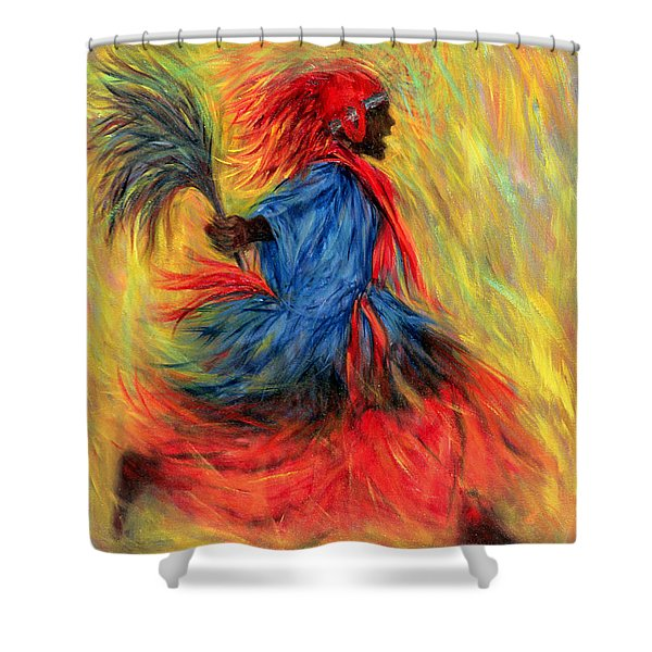 The Dancer, 1998 Oil On Canvas Shower Curtain