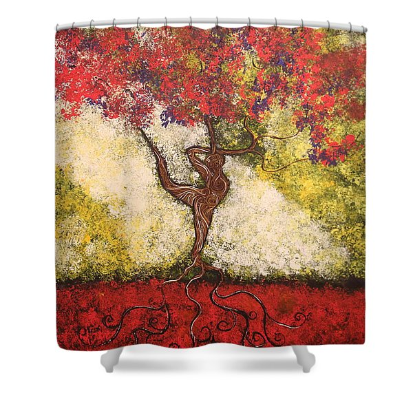 The Dancer Series 7 Shower Curtain