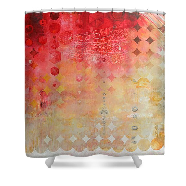 The Decay Of Starlight Shower Curtain