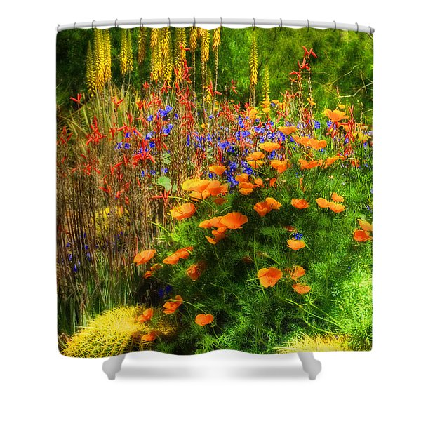 The Desert Abloom Shower Curtain
