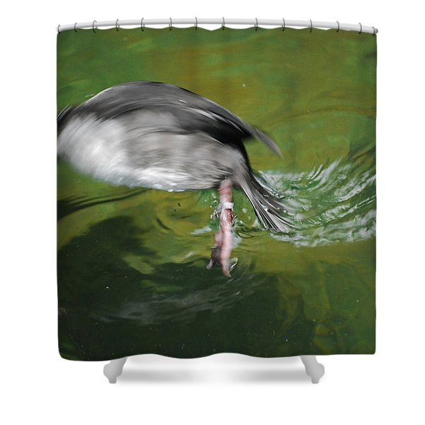 The Dive Shower Curtain
