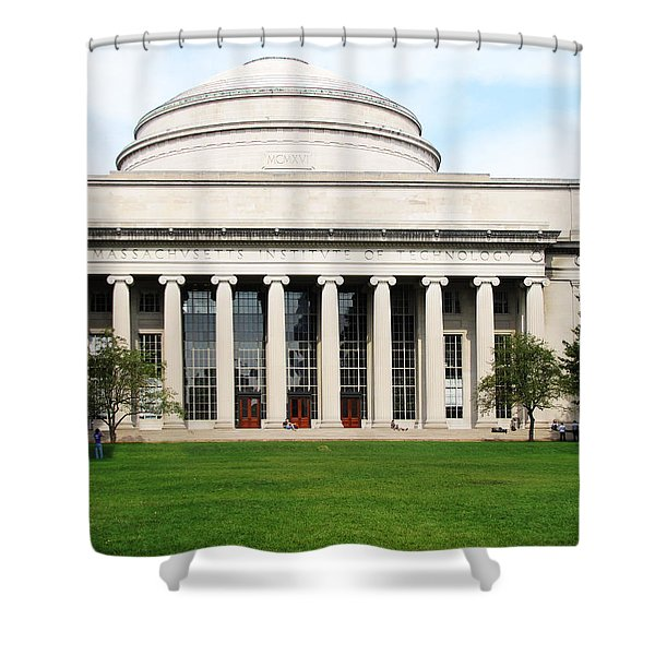 The Dome At Mit Shower Curtain