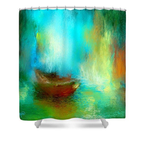 The Drifter Shower Curtain