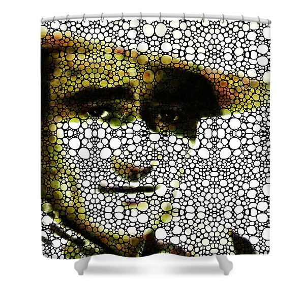 The Duke - John Wayne Tribute By Sharon Cummings Shower Curtain