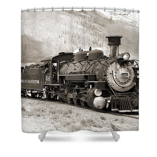 The Durango And Silverton Shower Curtain