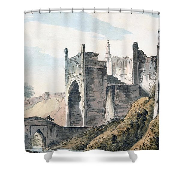 The East End Of The Fort Of Mongheer Shower Curtain