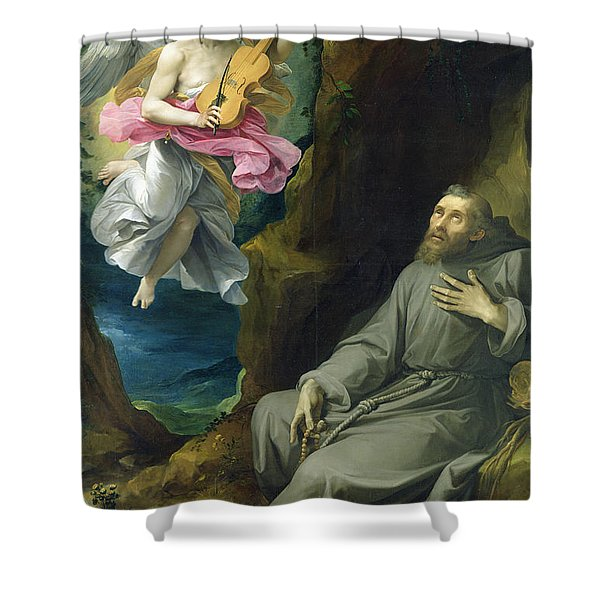 The Ecstasy Of St. Francis Of Assisi Shower Curtain
