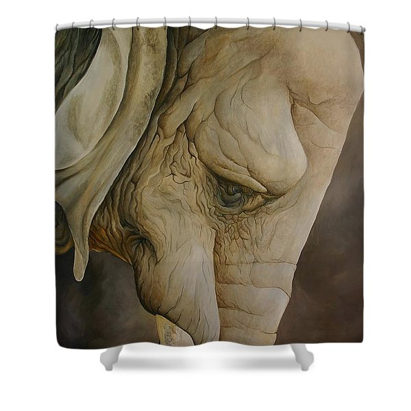 The Elder Shower Curtain