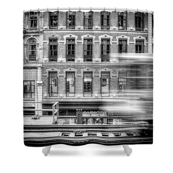 The Elevated Shower Curtain