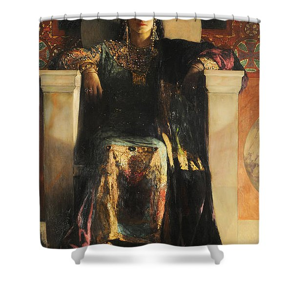 The Empress Theodora Shower Curtain