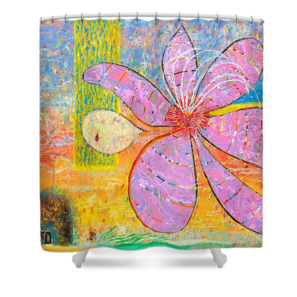 The Empty Tomb Shower Curtain
