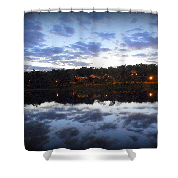 The End Of The Day Shower Curtain