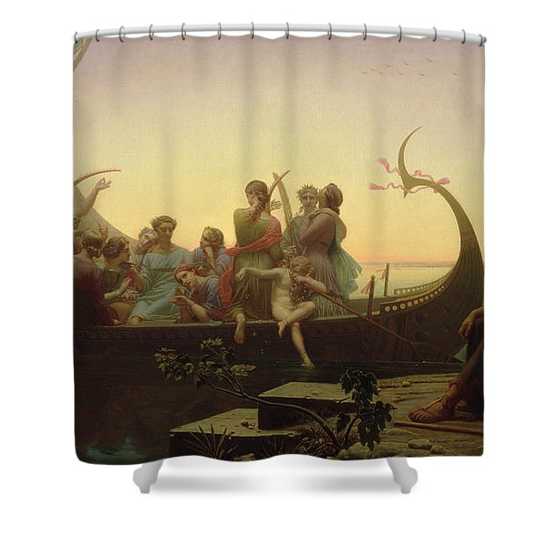 The Evening Shower Curtain