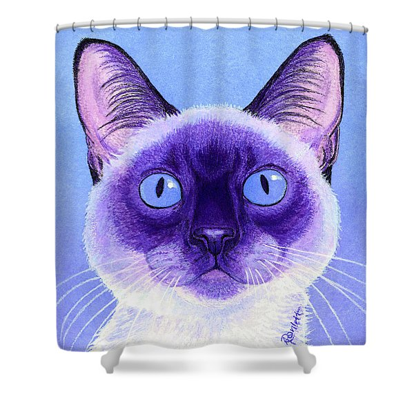 The Eyes Have It Shower Curtain