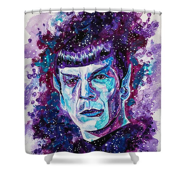 The Final Frontier Shower Curtain