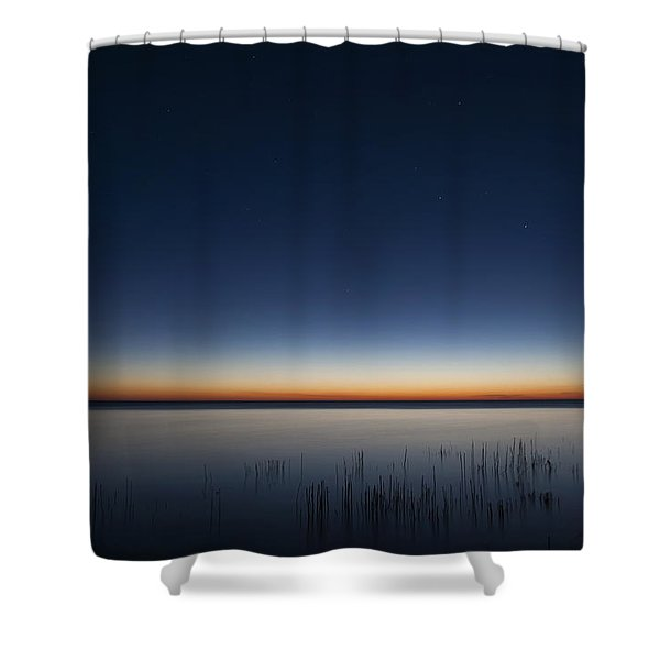 The First Light Of Dawn Shower Curtain