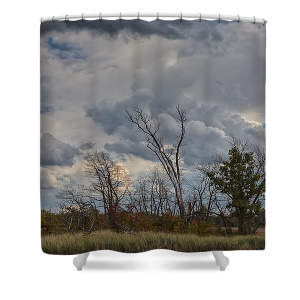 The Flatlands Of The Indiana Dunes Shower Curtain
