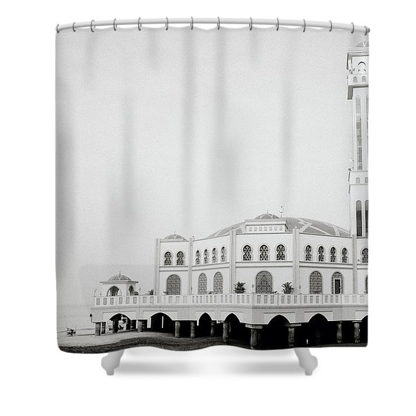 The Floating Mosque Shower Curtain