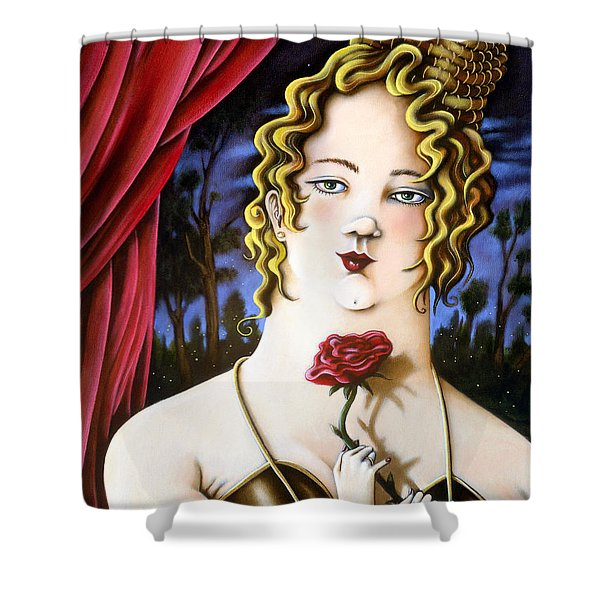 the Forgotten Woman Shower Curtain