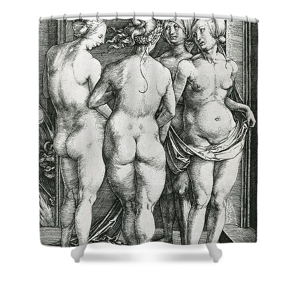 The Four Witches Shower Curtain