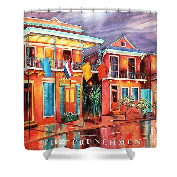 The Frenchmen Hotel New Orleans Shower Curtain