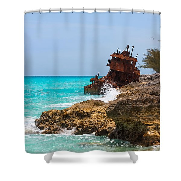 The Gallant Lady Shower Curtain