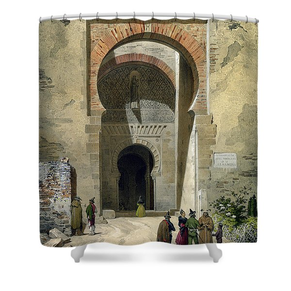 The Gate Of Justice Shower Curtain