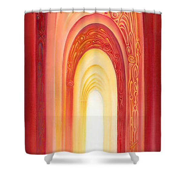 The Gate Of Light Shower Curtain