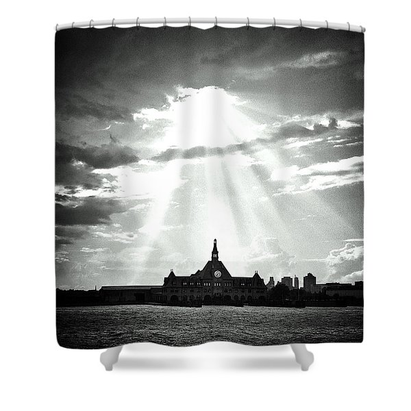 The Gateway Of Generations Shower Curtain