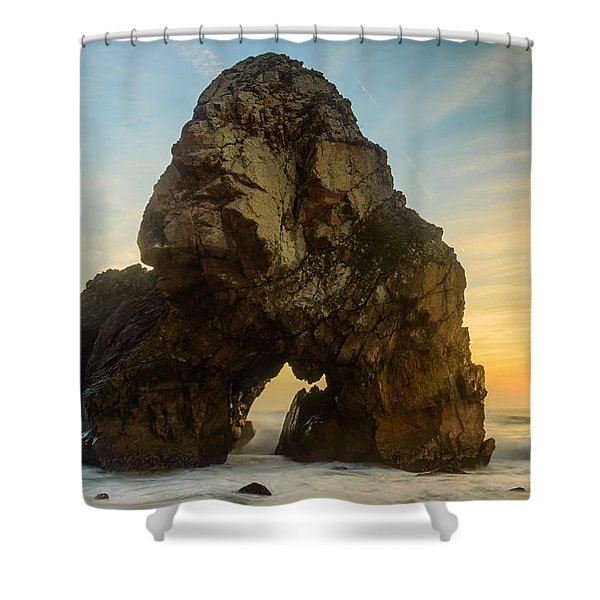 The Giant Of The Seas I Shower Curtain