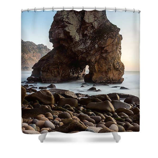 The Giant Of The Seas IIi Shower Curtain