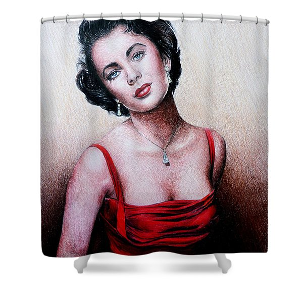 The Glamour Days Shower Curtain