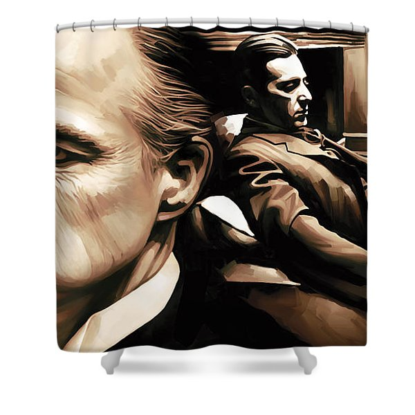 The Godfather Artwork Shower Curtain