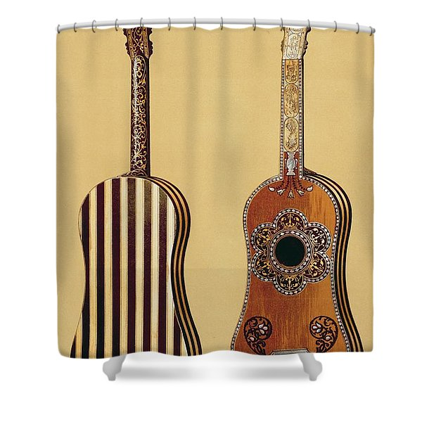 The Gold Temple Of The Principal Idol Shower Curtain