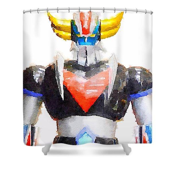 The Goldorak Shower Curtain
