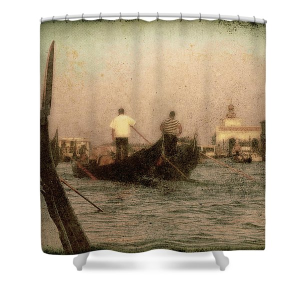 The Gondoliers Shower Curtain