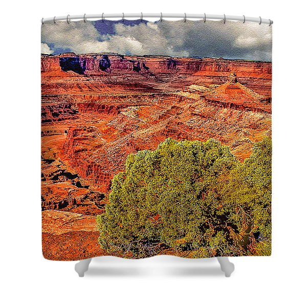The Grand Canyon Dead Horse Point Shower Curtain
