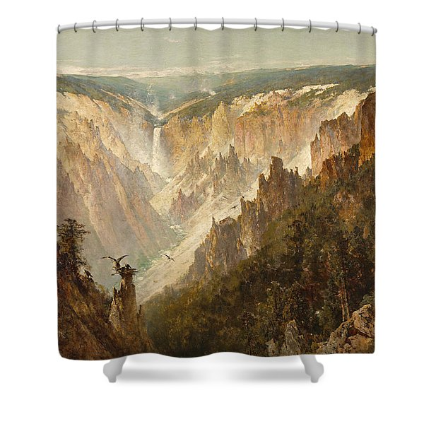 The Grand Canyon Of The Yellowstone Shower Curtain
