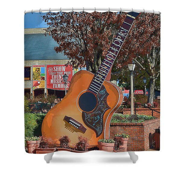 The Grand Ole Opry Shower Curtain
