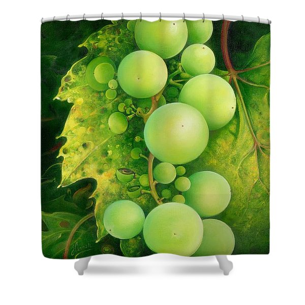 The Grapes Shower Curtain