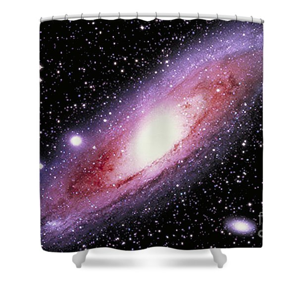 The Great Andromeda Galaxy Shower Curtain