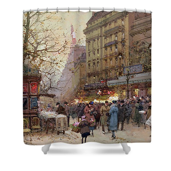 The Great Boulevards Shower Curtain