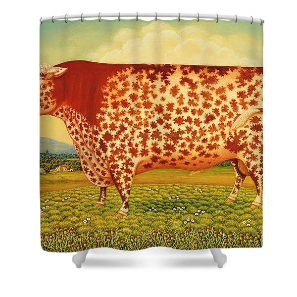 The Great Bull Shower Curtain