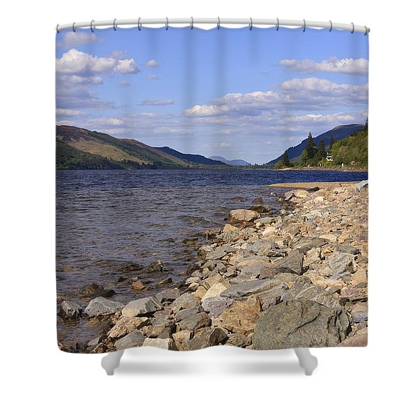 The Great Glen Shower Curtain