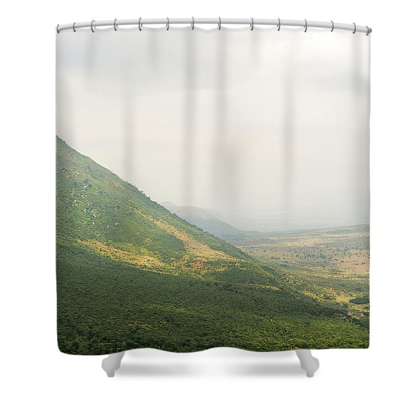 The Great Rift Valley Shower Curtain