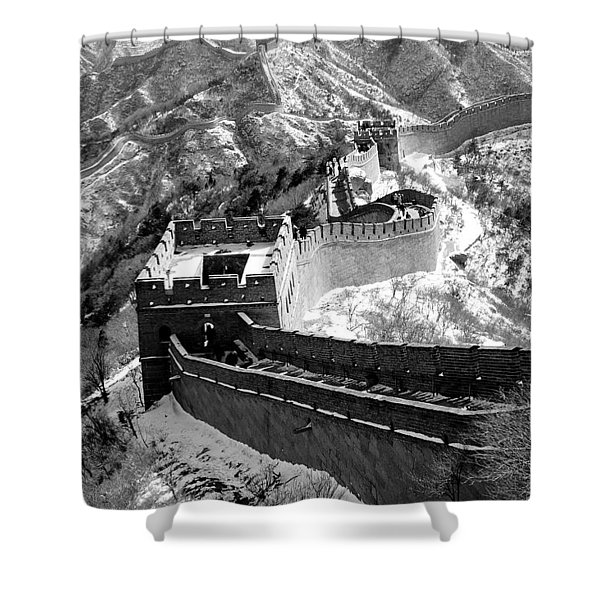 The Great Wall Of China Shower Curtain